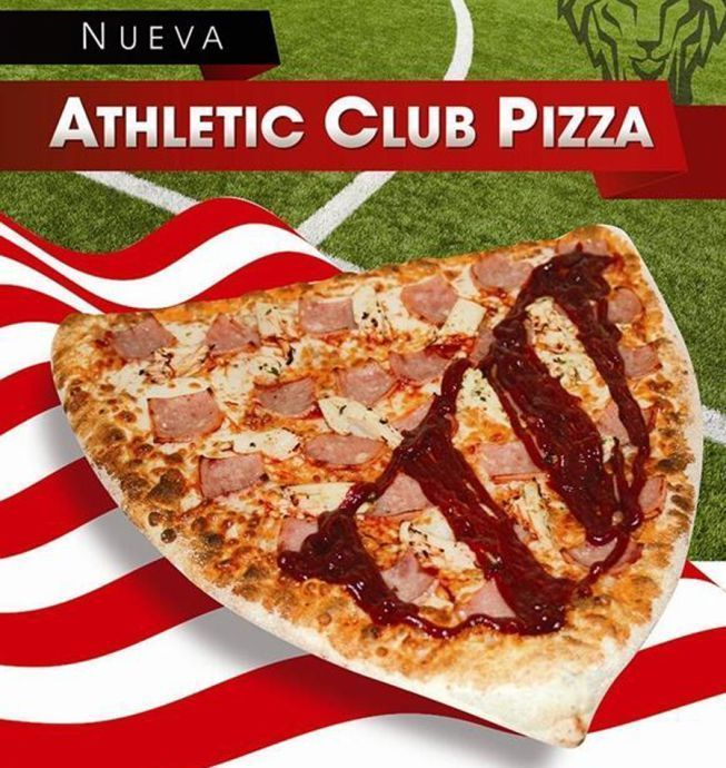 pizza athletic club de bilbao